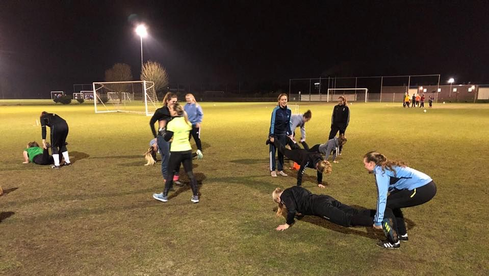 Bootcamp bij sportvereniging