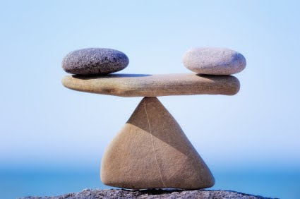 Balans blijven